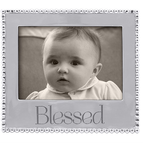 Pewter Blessed 7x5 Frame