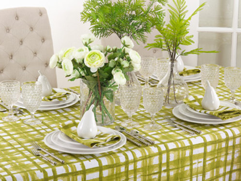 Basket weave Tablecloth