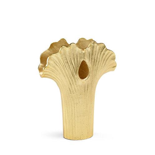 Ginkgo Gold Vase