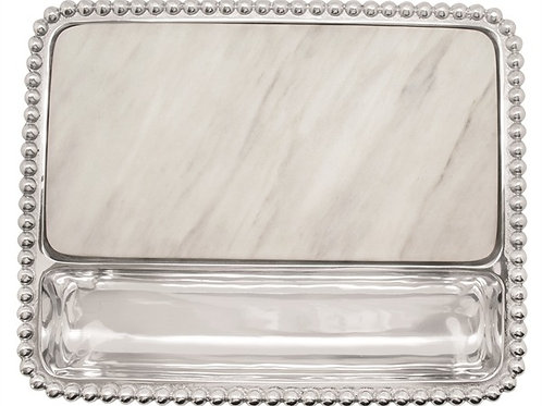 Marble cheese server
