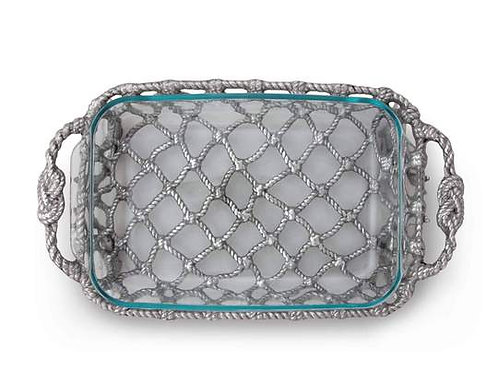 Fish Net Casserole/Pyrex Holder