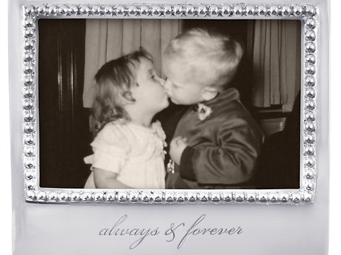 Pewter 6x4 Always & Forever Frame