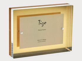 Acrylic Block Frame Gold