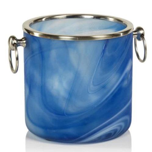 Melange Glass Ice Bucket