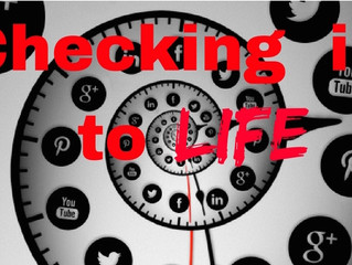 """""""Checking in""""—to Life : Escaping the Digital Timesuck"""