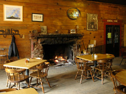 Pinehurst Lodge fireplace