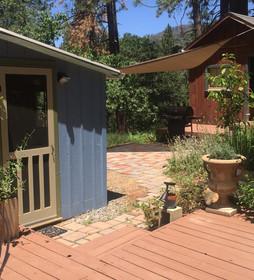 Merrynook side deck and back door