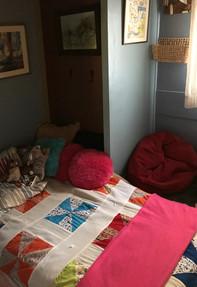 Bohemian Girl tiny room (twin bed)