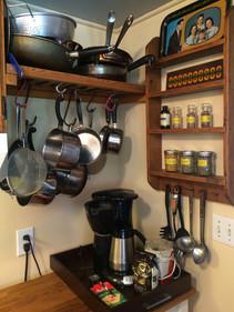 coffee set up