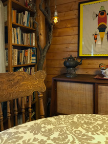 dining area library detail