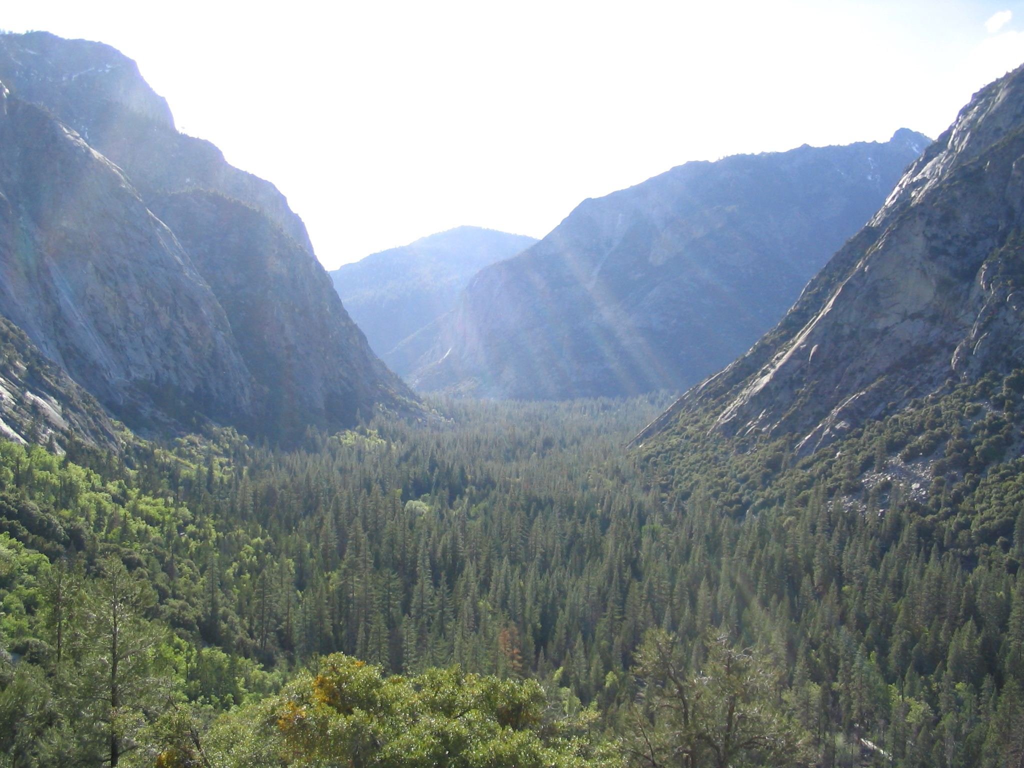 Kings Canyon from Bubbs Creek Trail