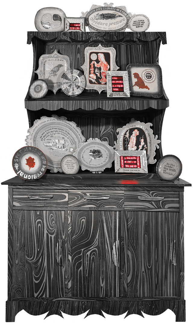 Truth Cabinet (Life at home has led to anger)