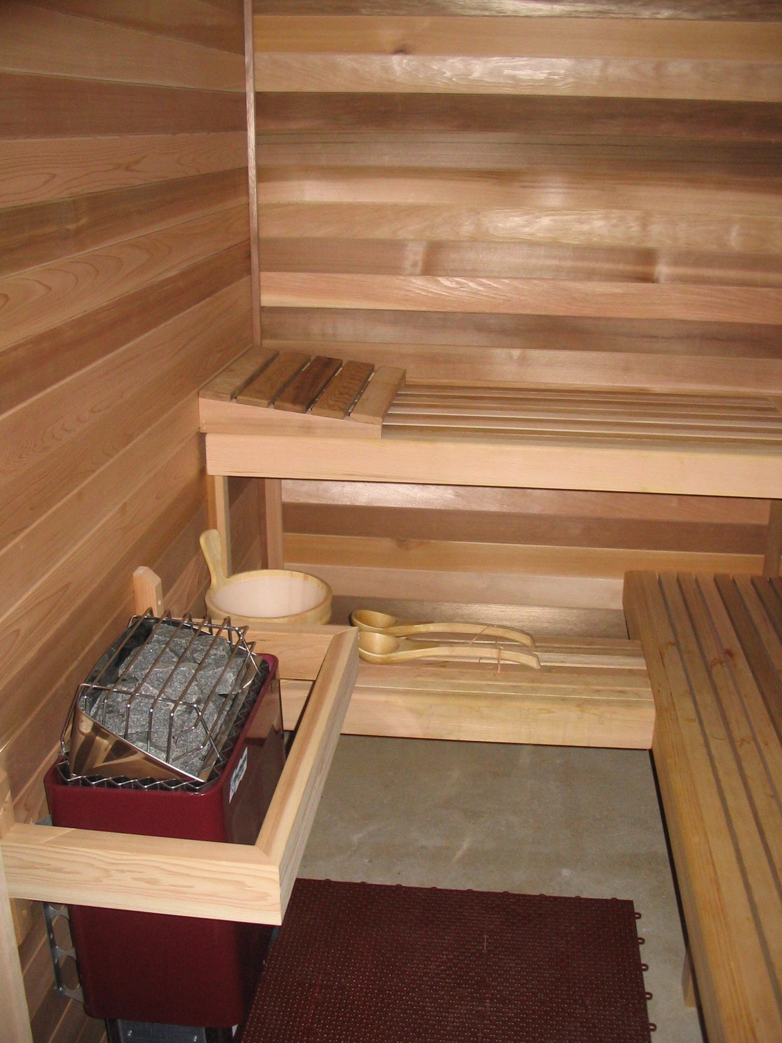 Fivespot Cabin sauna