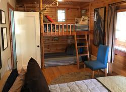 Fivespot Cabin bedroom
