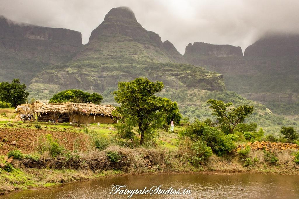 Kalsubai, the highest peak of Purushwadi is on the way to Purushwadi village, Maharashtra