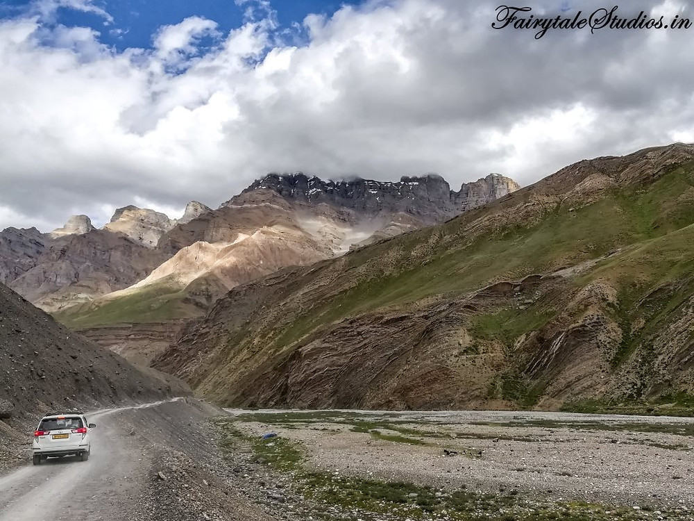 Road conditions on the way to Pin Valley - Spiti Valley, Himachal Pradesh, India
