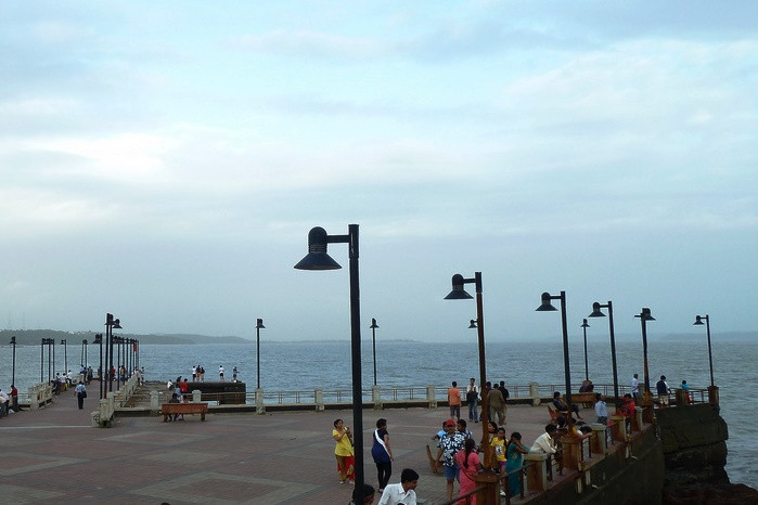 Dona Paula beach and view point in Panjim, Goa. Picture credits - joegoauk42