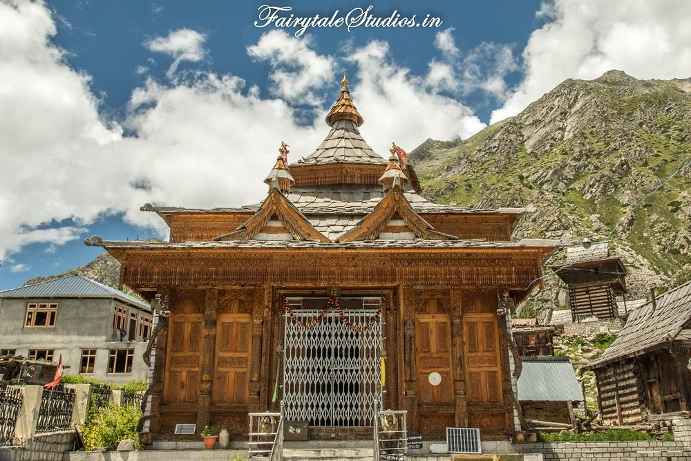 Mathi Devi temple in Chitkul village_Kinnaur valley, Himachal Pradesh - India