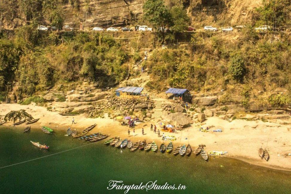 3. Dawki Boating Point_The Meghalaya Odyssey_Fairytale Travel blog