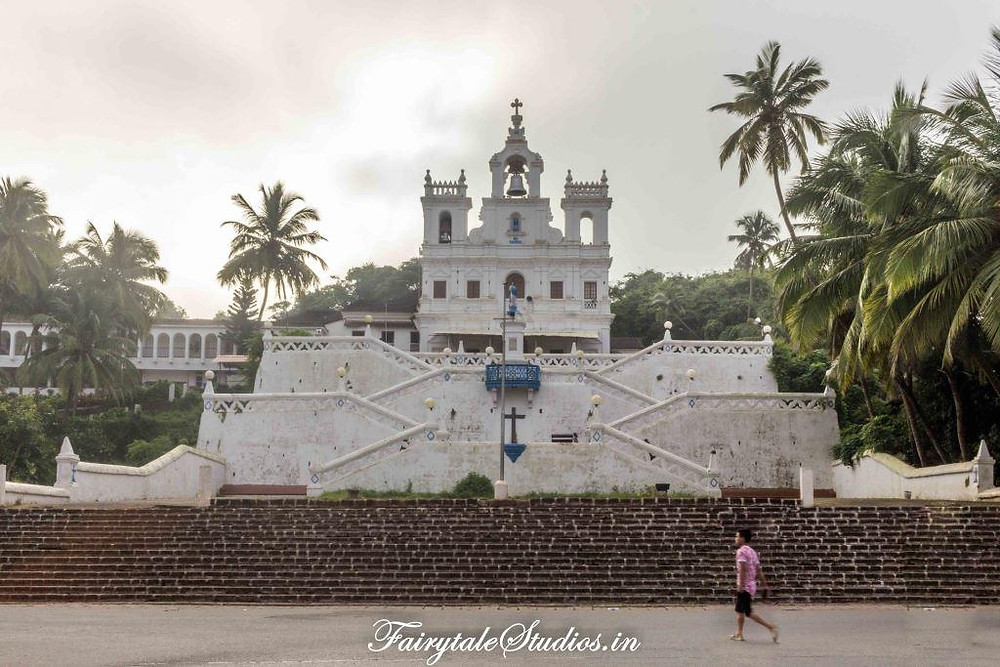 Our lady of immaculate church in Panjim, Goa