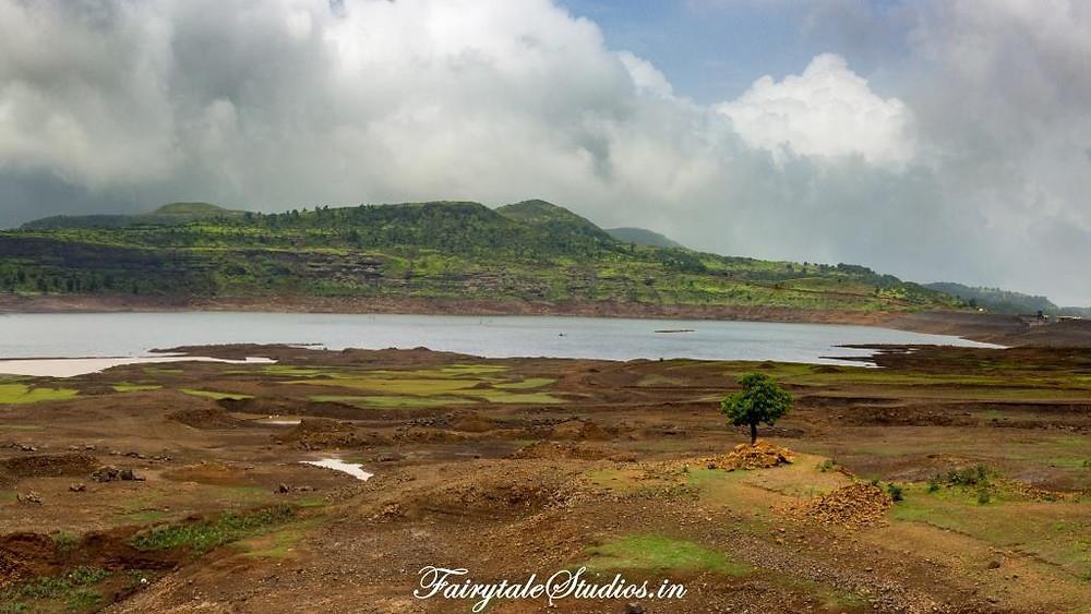 Lake near Purushwadi village, Maharashtra, India