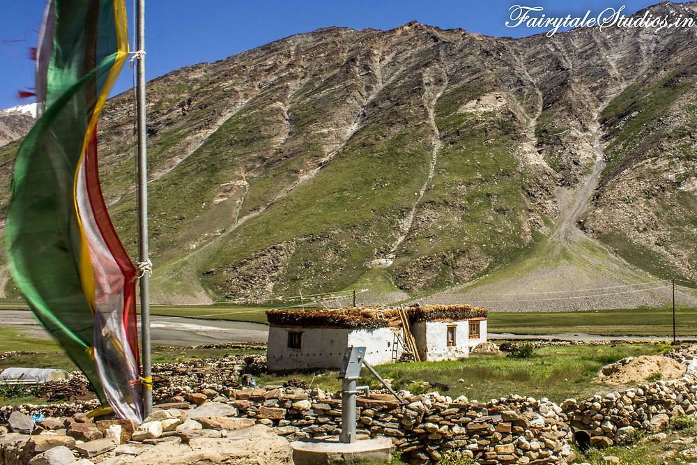 A small village on the way to Rangdum (The Zanskar Odyssey Travelogue)