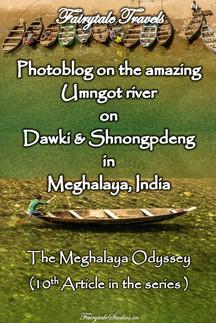 Umngot river Photoblog, Meghalaya