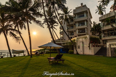 Rockholm at the Lighthouse beach - Recommended stay in Kovalam, South Kerala