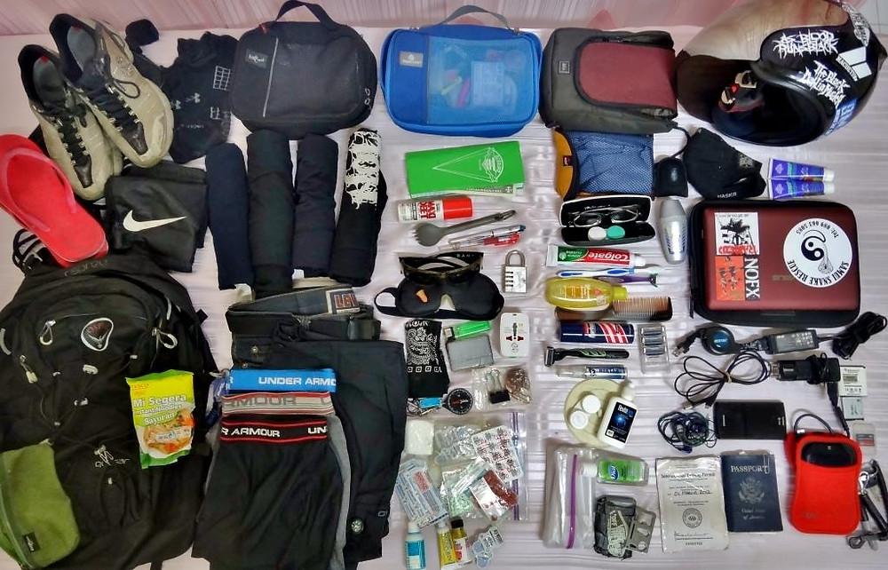Minimalisti packing