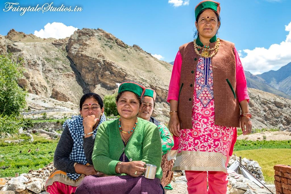 Friendly locals of Spiti Valley, India_Introduction to Spiti Valley