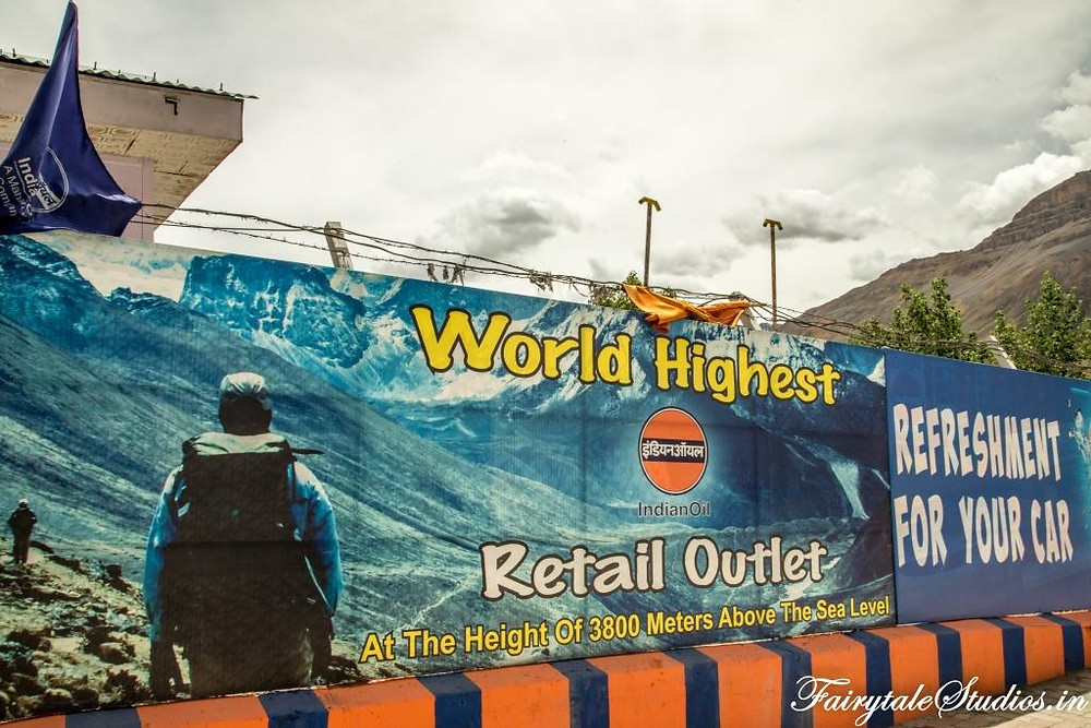 World's highest fuel outlet in Kaza, Spiti Valley_Plan your trip to Spiti Valley
