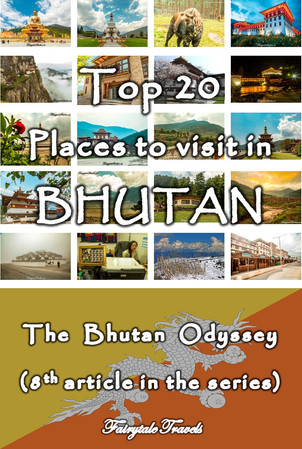 Top places to visit in Bhutan
