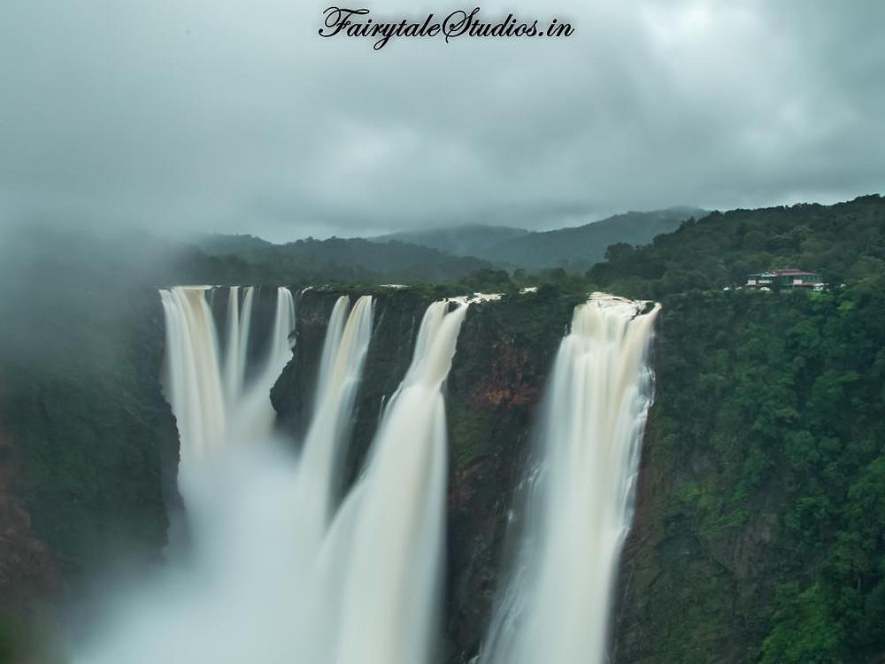 The mighty Jog Falls, Karnataka - India
