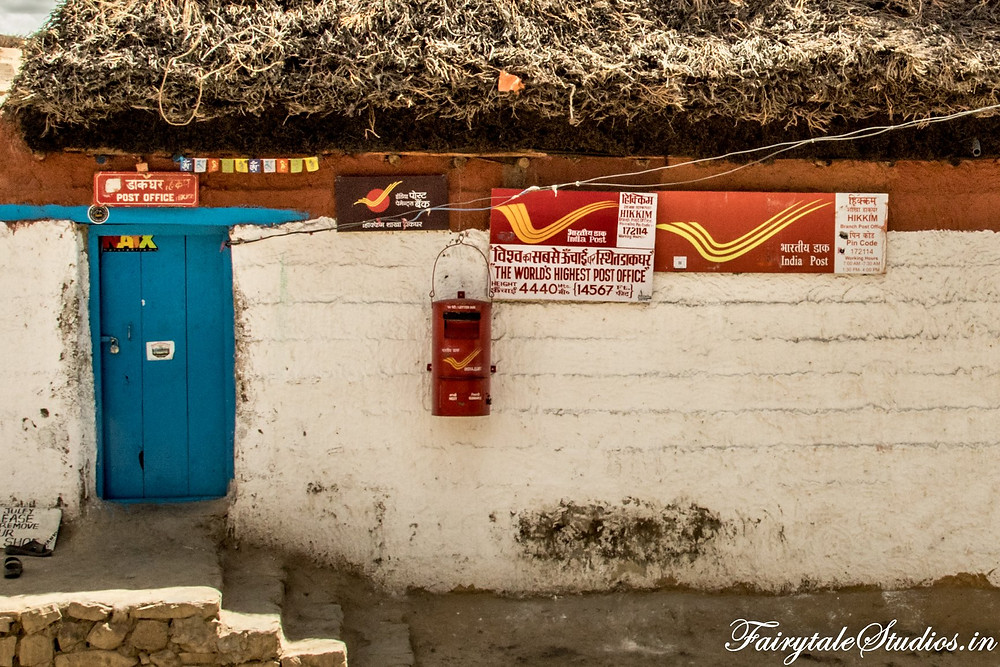 Highest post office in the world at Hikkim village, Spiti Valley - Himachal Pradesh, India
