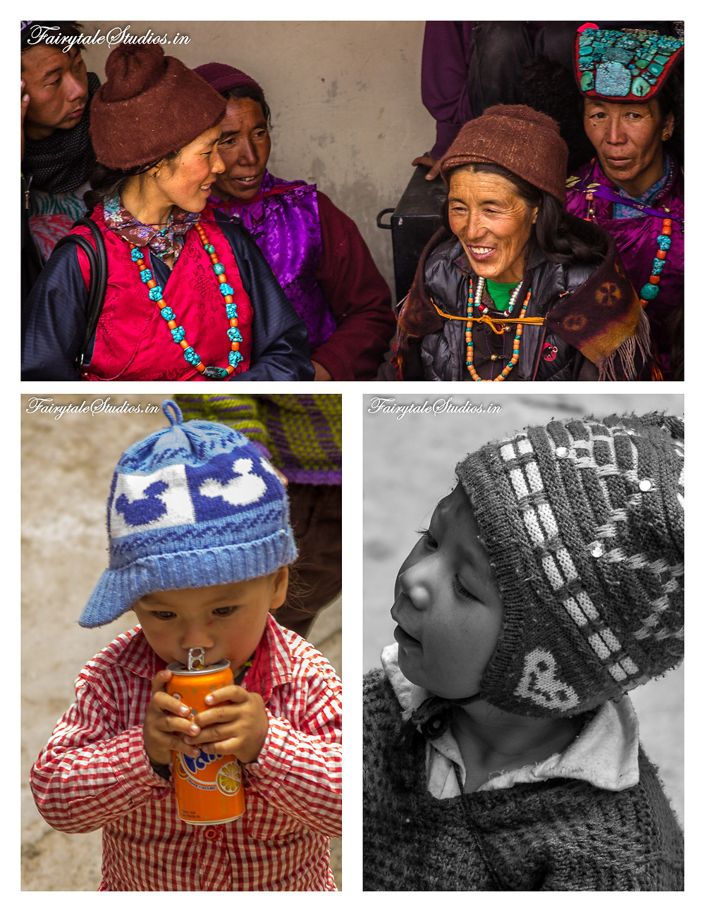 People come from all around Stongdey to celebrate the festival (The Zanskar Odyssey Travelogue)