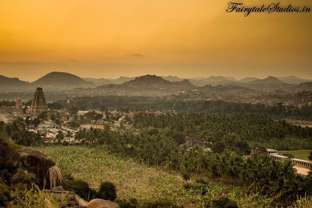 If dreams were made of stone, they would be called Hampi