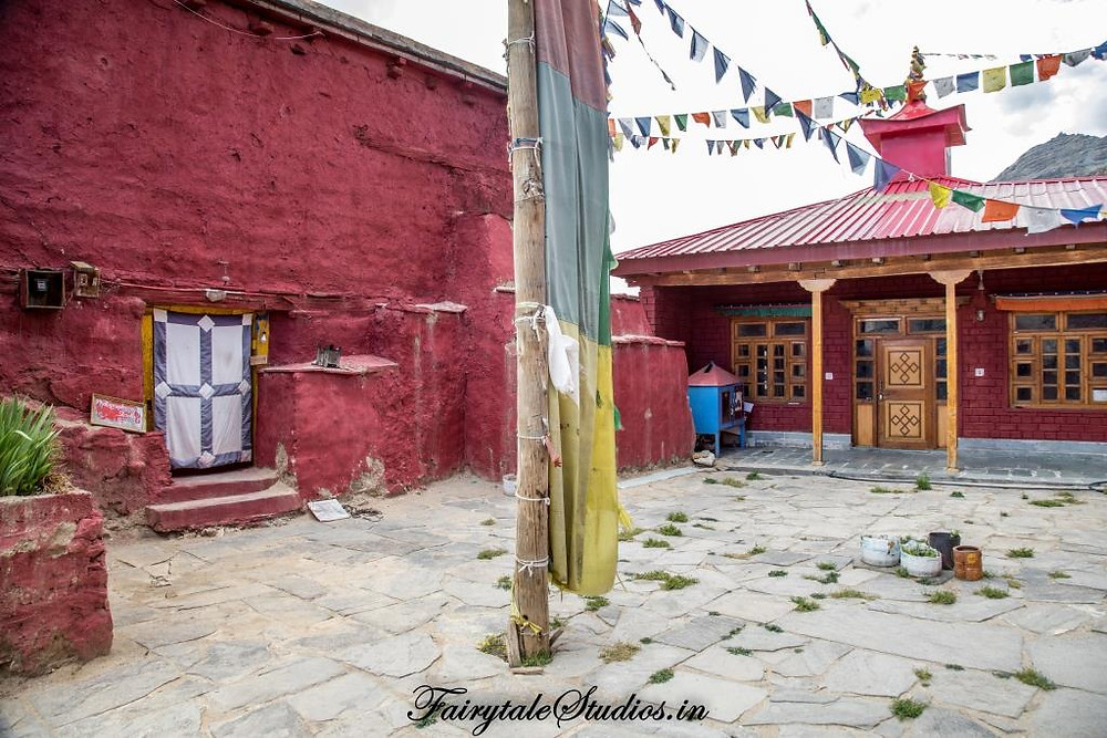 Nako monastery in Nako village_Kinnaur valley, Himachal Pradesh - India