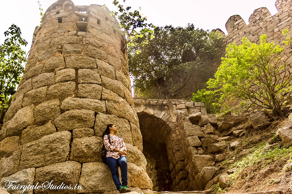 Stone structures and almost nobody to bother you gives you enough time to click some good photographs