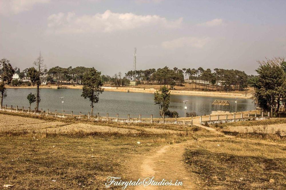 Thadlaskein Lake in Jaintia Hills