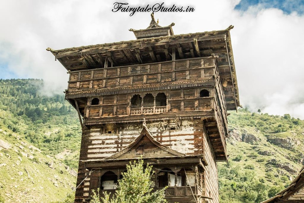 Kamru Fort near Sangla village, Kinnaur Valley - Himachal Pradesh, India
