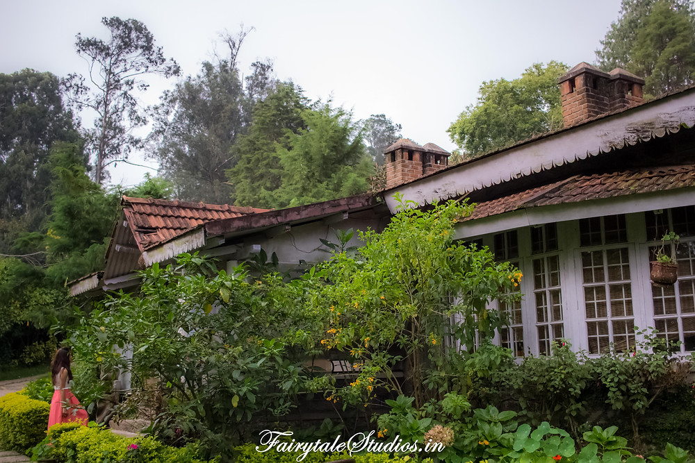 Entering the main building housing reception and dining areas @The Fern Creek, Kodaikanal, India