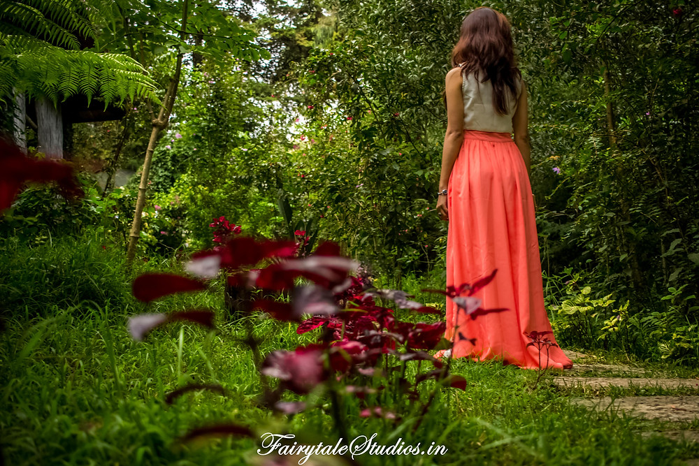 Heading towards our room felt like entering an enchanted forest in The Fern Creek, Kodaikanal, India