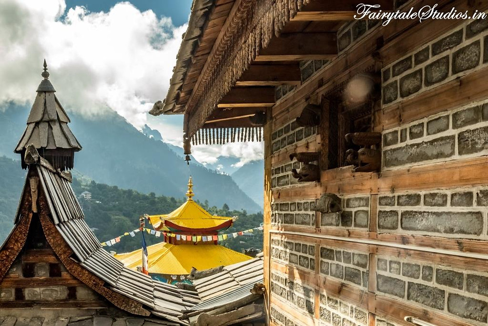 Perfect amalgamation of Hinduism and Buddhism in Sangla Valley, Kinnaur Valley - Himachal Pradesh, India