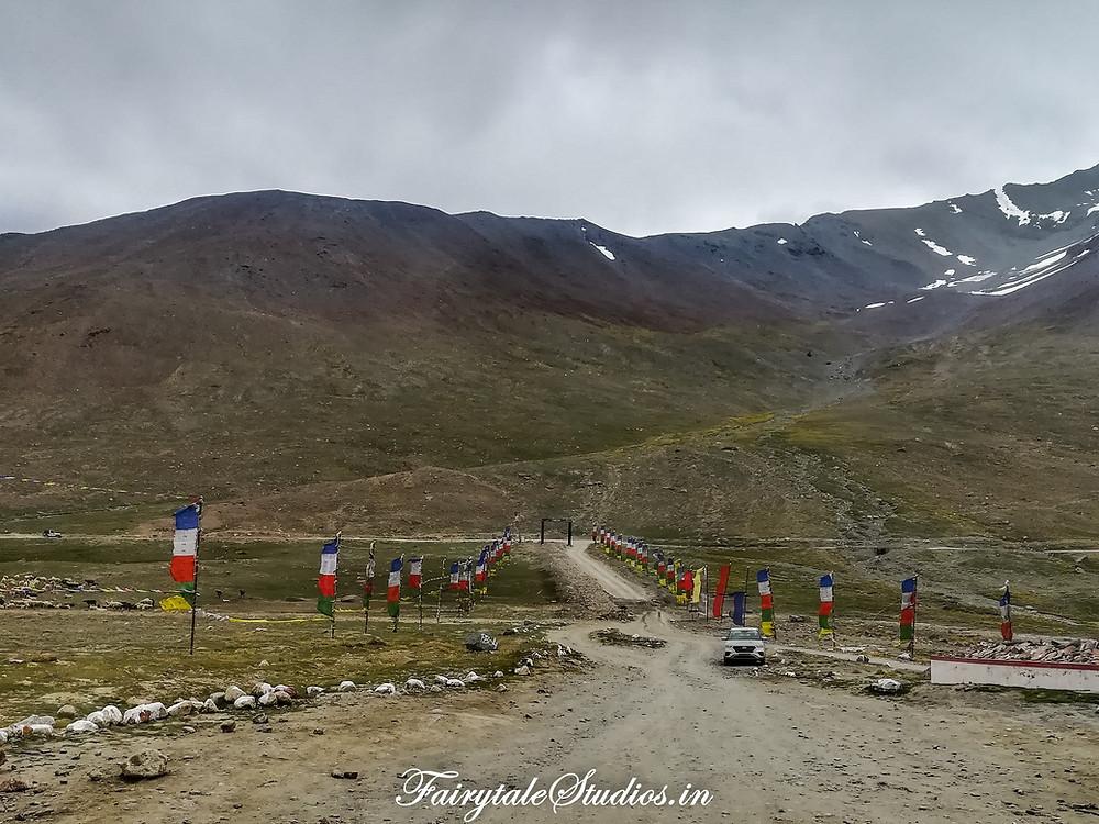 Approaching Kunzum Pass from Kaza, Spiti Valley - Himachal Pradesh, India