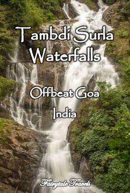 Tambdi Surla waterfalls, Goa - India