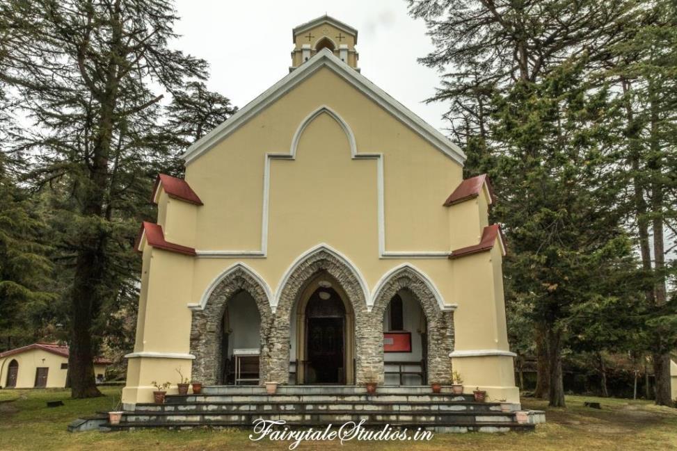 St. Paul's Church at Landour, Uttarakhand - India