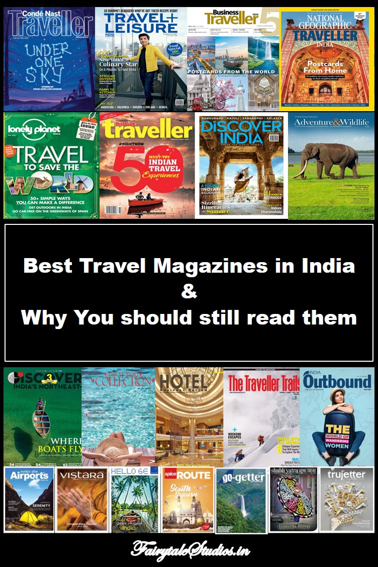Pin this image if you liked this article on Best travel magazines in India
