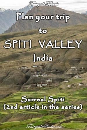 Plan your trip to Spiti Valley, Himachal Pradesh - India