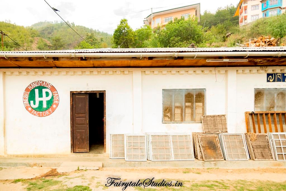 Entrance to the Jungshi handmade paper factory, Thimphu_The Bhutan Odyssey_Places to visit in Thimphu