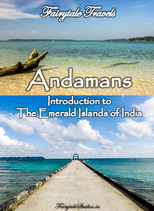 Pin this image if you liked our travel blog - The Andaman Odyssey - Introduction to emerald islands of India
